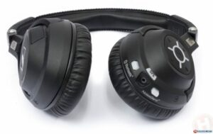 Sennheiser MM 550-X bluetooth koptelefoon close