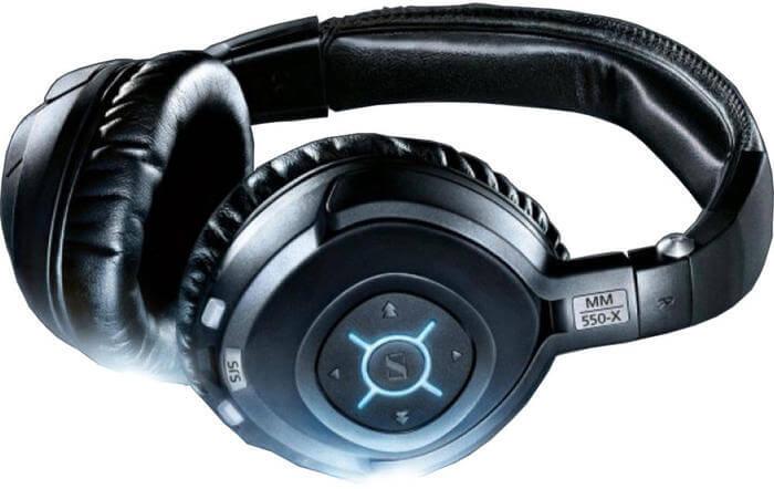 Sennheiser MM 550-X bluetooth koptelefoon close