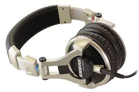 Shure SRH750DJ DJ hoofdtelefoon