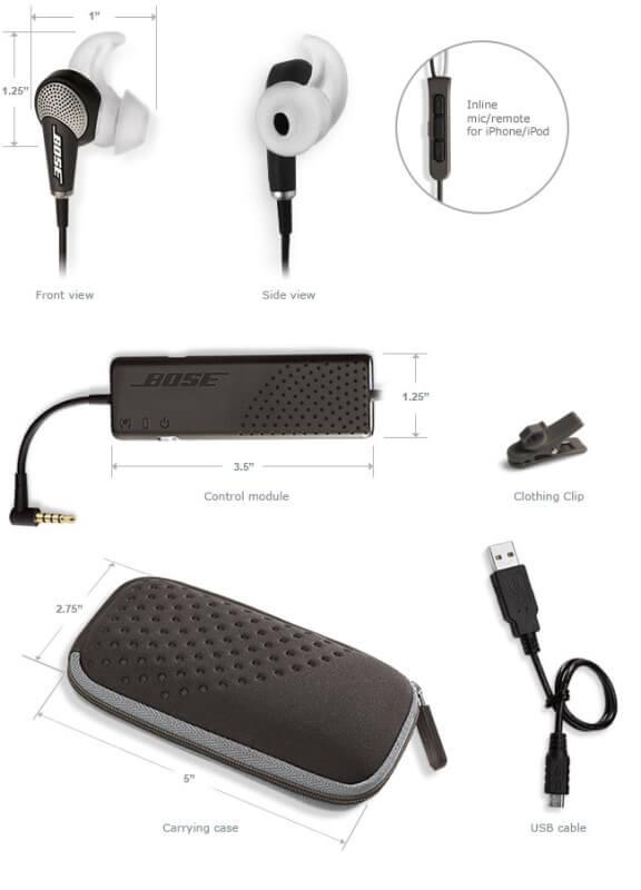 Bose quietcomfort 20 eigenschappen