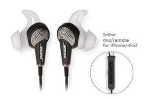 Bose quietcomfort 20 koptelefoon