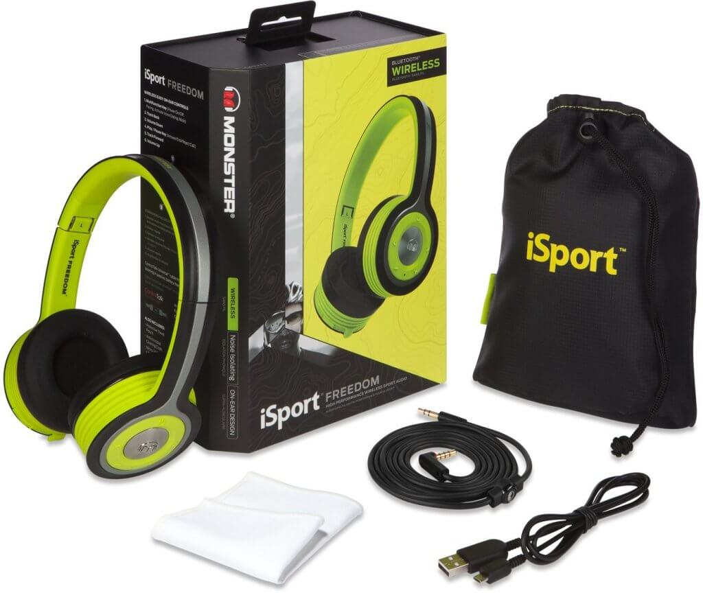 Monster iSport Freedom inhoud