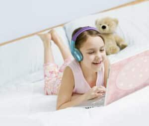 bluetooth draadloze kinderkoptelefoon