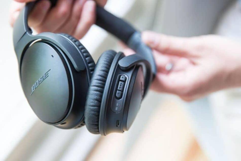 Bose QuietComfort 35 koptelefoon bluetooth