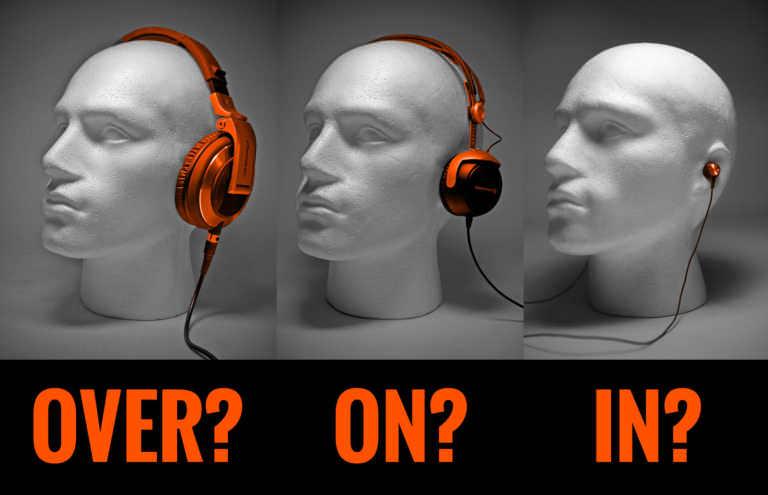Verschil tussen In-ear, On-ear en Over-ear koptelefoons: Welke moet je kopen?